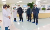 【市一新闻】甘肃省大型医院巡查督导工作组莅临我院开展巡查督导工作